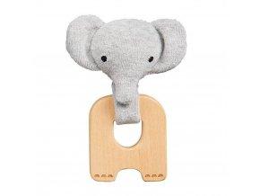 Petitcollage Kousátko slon