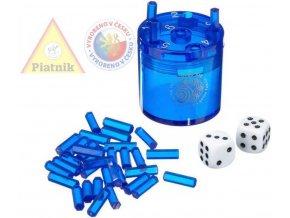 PIATNIK Hra Super SIX modrý *SPOLEČENSKÉ HRY*
