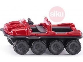 SIKU Argo Avenger terénní vozidlo červené model kov 1386