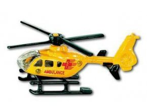 SIKU Helikoptéra Ambulance vrtulník kovový 0856