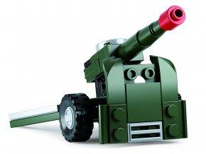 Sluban Builder M38-B05396 4 Army 1ks C Sluban Builder M38-B05396 4 Army 1ks C