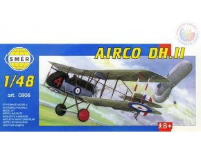 SMĚR Model letadlo Airco DH II 1:48 (stavebnice letadla)