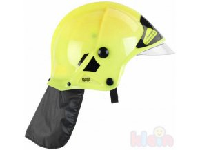 213038 klein helma detska hasicska zluta s krytem na oci sviti ve tme plast