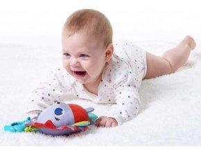 298352 tiny love baby jezecek marie textilni zavesny vibrujici s kousatkem pro miminko