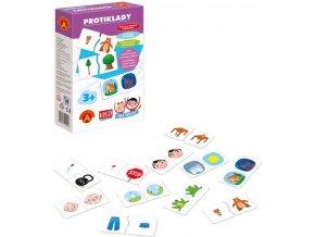 ALEXANDER Hra školou Protiklady naučná hra v krabici