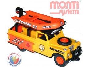 SEVA Monti System 48 Auto Land Rover BAYWATCH stavebnice MS48 0101-48