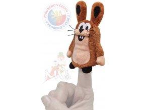 MORAVSKÁ ÚSTŘEDNA Maňásek prstový Zajíc 10 cm
