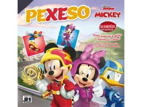 364105 jiri models pexeso v sesitu mickey mouse s krabickou a omalovankou