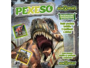 364111 jiri models pexeso v sesitu dinosauri s krabickou a omalovankou