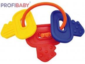 PROFIBABY Baby přívěšek plastové klíče kousátko