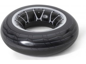 357154 bestway kruh nafukovaci pneumatika 119cm plavidlo kolo do vody 36102