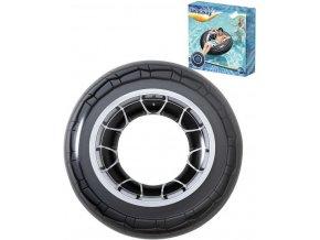 256151 bestway kruh nafukovaci pneumatika 119cm plavidlo kolo do vody 36102