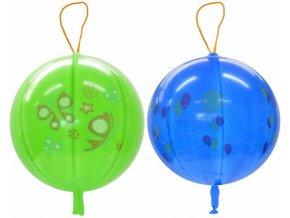 357715 gemar balonek nafukovaci punch ball potisteny s gumickou 45 141 8 mix gpbd1
