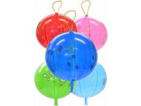 256424 gemar balonek nafukovaci punch ball potisteny s gumickou 45 141 8 mix gpbd1