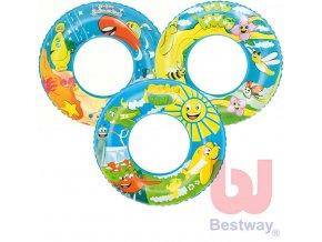 362713 bestway kruh plavaci 56cm nafukovaci kolo do vody ruzne druhy