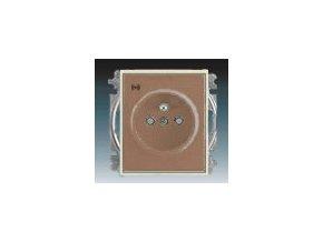 3230 zasuvka jednonasobna s ochranou akusticka kavova ledova opalova 5589e a02357 25