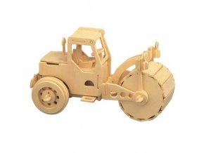 Woodcraft Dřevěné 3D puzzle válec