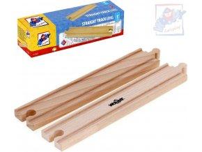 226178 woody drevo kolej rovna dlouha set 2ks prislusenstvi k vlackodraze
