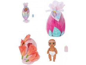 ZAPF BABY BORN Panenka miminko Surprise 4.serie s doplňky ve fusáčku pije čůrá