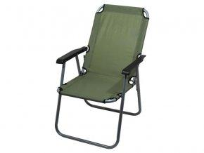 Židle kempingová CATTARA 13459 LYON tmavě zelená