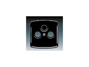 3390 kryt zasuvky televizni rozhlasove a satelitni cerna 5011a a00300 n