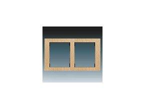 Rámeček dvojnásobný - přírodní buk 3901F-A50120 50