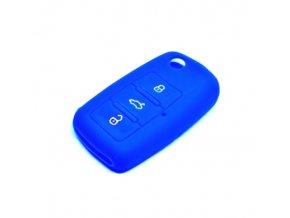 Obal na klíče ŠKODA OCTAVIA I 1996 - 2010 BLUE silikon