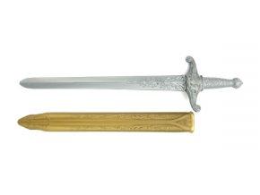 Dětský rytířský meč s pouzdrem TEDDIES 59 cm