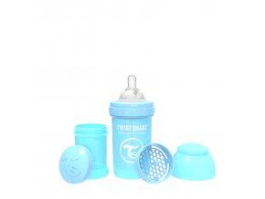 355 kojenecka lahev anti colic 180ml pastelove modra