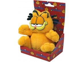 MORAVSKÁ ÚSTŘEDNA PLYŠ Kocour Garfield sedící 10cm dárkové balení