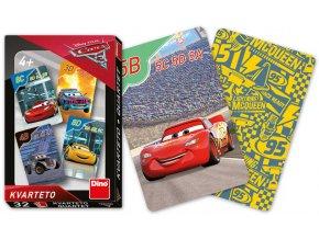 DINO Hra karetní Kvarteto Cars 3 (Auta) *SPOLEČENSKÉ HRY*