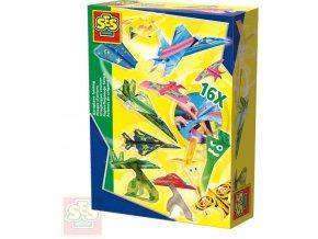 367012 ses creative vyroba papirovych letadel 16 modelu kreativni set v krabici