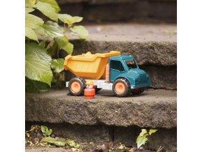 367975 b toys baby auticko nakladni sklapecka vroom set s figurkou ridice
