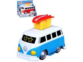 BBURAGO Baby autobus Volkswagen měnící se oči 2 barvy pro miminko