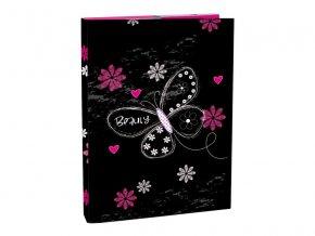 Box na sešity s klopou A4 Romantic 2 STIL