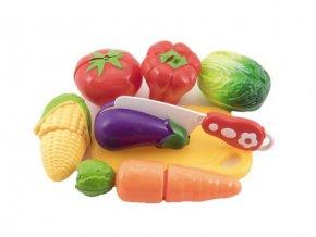Dětská zelenina s prkénkem TEDDIES