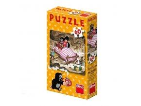 Dino Puzzle Jak Krtek uzdravil myšku 1 ks