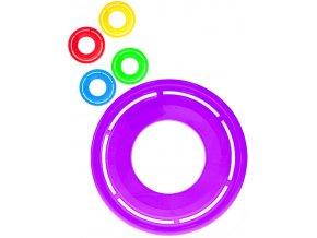 Disk házecí 29cm frisbee létající talíř 5 barev plast