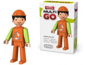 360238 efko igracek multigo popelar figurka v krabicce