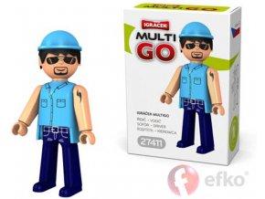 360241 efko igracek multigo ridic figurka v krabicce