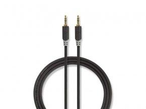 Kabel NEDIS JACK 3.5 konektor/JACK 3.5 konektor 2m