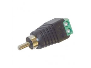 Konektor CINCH se svorkovnici