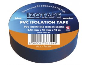 Páska izolační PVC 15/10m modrá EMOS