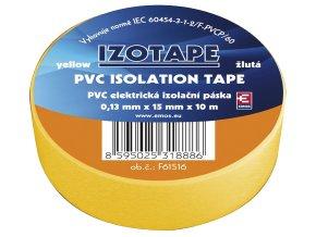 Páska izolační PVC 15/10m žlutá EMOS