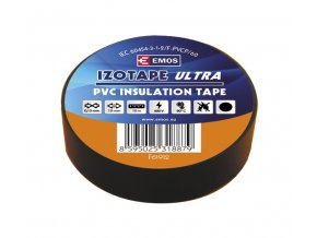 Páska izolační PVC 19/10m černá EMOS