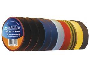 Páska izolační PVC 19/20m barevný mix EMOS 10ks