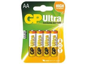 3924 alkalicka baterie gp ultra lr6 aa 4 ks