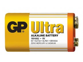 3925 alkalicka baterie gp ultra 6lf22 9v