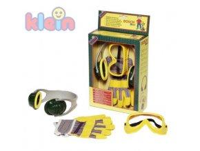 KLEIN Set rukavice+brýle+sluchátka