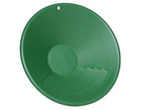 3978 zelena plastova ryzovaci panev garrett 10